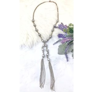 Jewelry - 🔗 Faux Pearl Chain Necklace